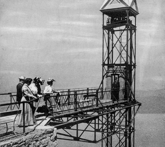 Abb. 1: Ansichtskarte von der Bergstation des Hammetschwand-Lifts