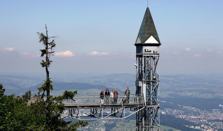 Abb.1: Die Bergstation des Hammetschwand-Lifts