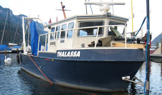 Abb. 10: Das Forschungsschiff Thalassa