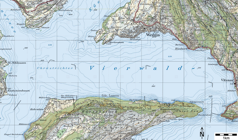 Abb.2: Topographischen Landeskarte