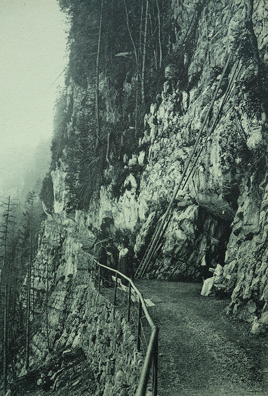 Abb. 4: Ansichtskarte der Talstation des Hammetschwand-Lifts